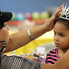 My Grandaughter getting her crown adjusted on her birthday...  Happy 7th Birthday Makayla!